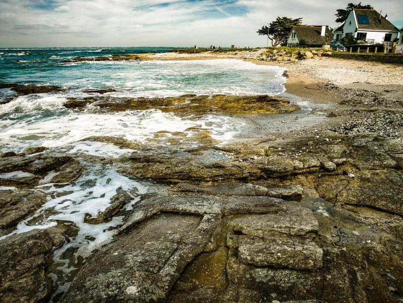 Roc'h Avel, vue des rochers