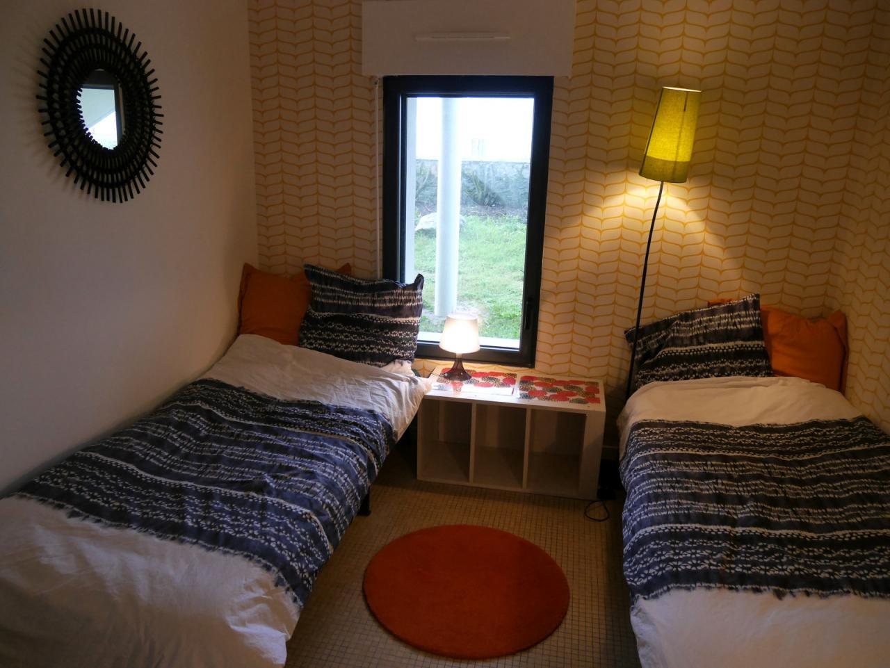 Chambre jaune (2 lits)